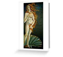 Venus Greeting Card