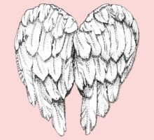 soft winged heart Kids Clothes