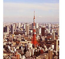 Tokyo Tower by Daphney1019