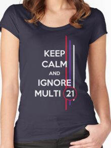 Multi 21 Women's Fitted Scoop T-Shirt