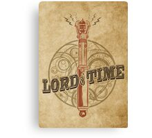 Steampunk Sonic Screwdriver Canvas Print
