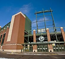 Lambeau Field Green Bay Wisconsin by pictureguy