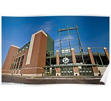 Lambeau Field Green Bay Wisconsin Poster