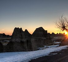 South Dakota Badlands by pictureguy