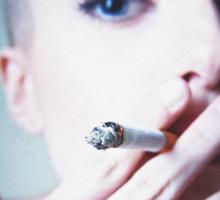 Devin Smoking Sticker