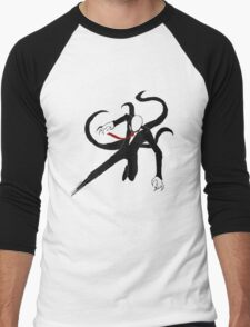 Slenderman Men's Baseball ¾ T-Shirt