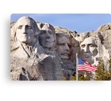 Mount Rushmore South Dakota Black Hills Canvas Print