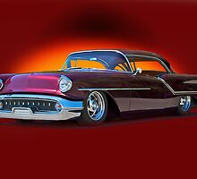 1957 Oldsmobile Custom Studio 3 by DaveKoontz
