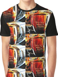 This Beer Makes Me Awesome Graphic T-Shirt