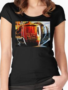 This Beer Makes Me Awesome Women's Fitted Scoop T-Shirt