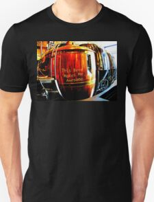 This Beer Makes Me Awesome Unisex T-Shirt