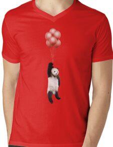 Pandaloons Mens V-Neck T-Shirt