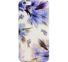 Blue Flower Wallpaper iPhone Case iPhone Case/Skin