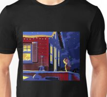 CHRISTMAS CHARLIE BROWN HOME ALONE Unisex T-Shirt