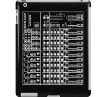 Mixing / sound board (Black) iPad Case/Skin