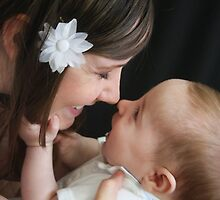 baby and mom  by Norma  Ledesma