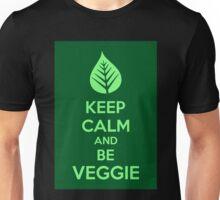 Keep Calm And Be Veggie Unisex T-Shirt
