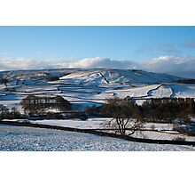 Thorpe view, Yorkshire Dales Photographic Print