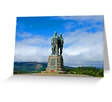 Commando Memorial 4 Greeting Card