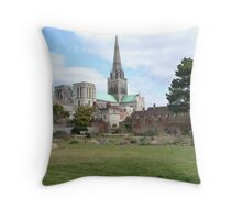Chichester Cathedral Throw Pillow