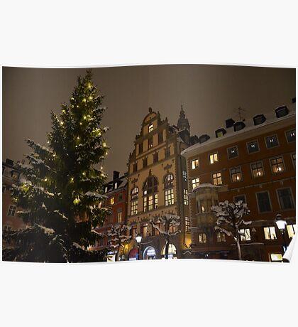 Stockholm december 2013 Poster