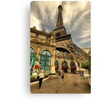 Eiffel Vegas  Canvas Print