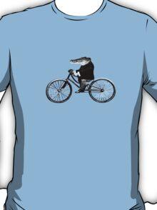 Croc On A Bike T-Shirt