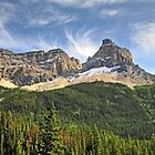 Wild, rugged Yoho mountaintop by Erykah36