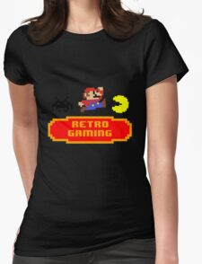Retro Gaming Womens Fitted T-Shirt