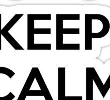 Keep calm and K-pop Sticker