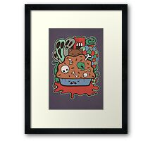 Muffin of Death Framed Print