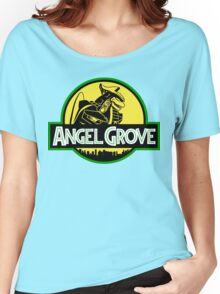 Angel Grove: Dragonzord Women's Relaxed Fit T-Shirt