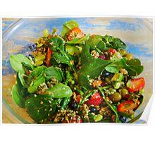 La Salade Verte Poster