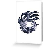 Giratina used shadow force Greeting Card