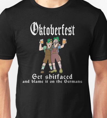 Oktoberfest Get Shit Faced Unisex T-Shirt