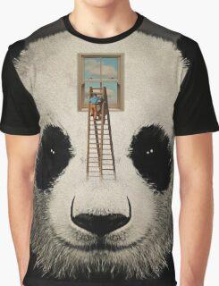 Panda window cleaner 03 Graphic T-Shirt