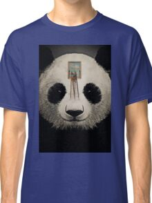 Panda window cleaner 03 Classic T-Shirt