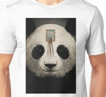 Panda window cleaner 03 Unisex T-Shirt