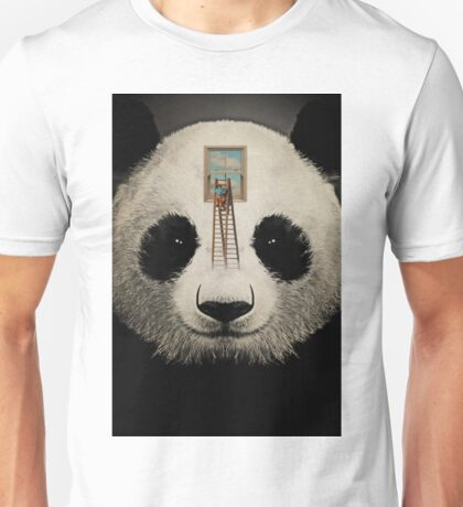 Panda window cleaner 03 T-Shirt