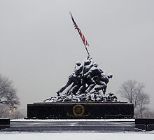 Iwo Jima Memorial - Arlington National Cemetary by Matsumoto
