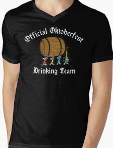 Official Oktoberfest Drinking Team Mens V-Neck T-Shirt