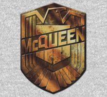 Custom Dredd Badge Shirt - (McQueen) Kids Clothes