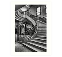 Spanish Stairs Art Print