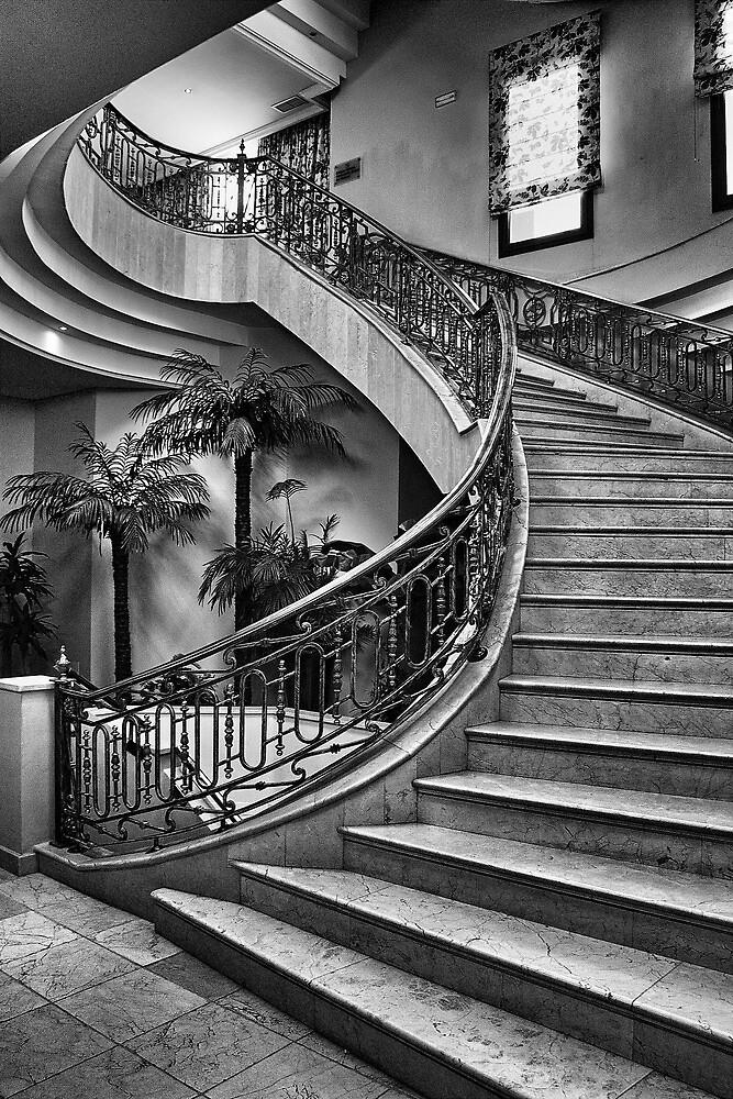 Spanish Stairs by Dave Godden