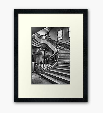 Spanish Stairs Framed Print