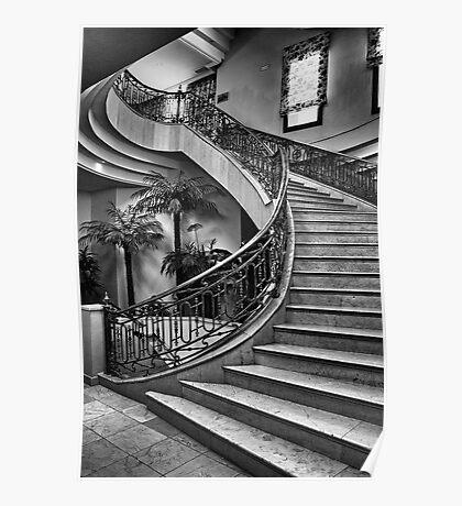 Spanish Stairs Poster