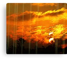 The Sunset Of The Two Suns Canvas Print