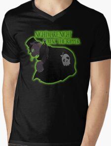 Mac the Ripper Mens V-Neck T-Shirt