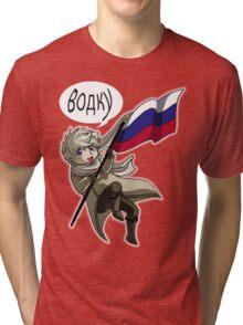 Falling Russia Tri-blend T-Shirt