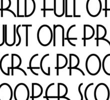 Pooper Scooper Sticker